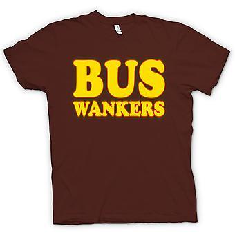 Мужская футболка-автобус онанисты