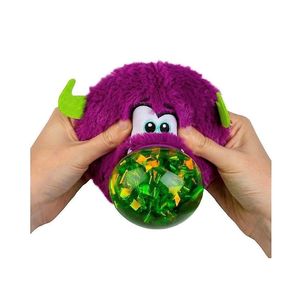 Odditeez Plopzz Slime fylld Ultra plysch (lila)
