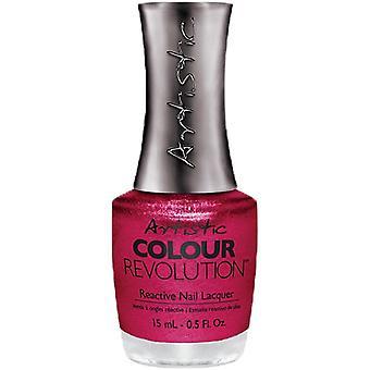 Artistic Ovia Colore Rivoluzione Professionale Chiodo Reattivo Lacca - Caduta In Lust-er 15ml (2300051)