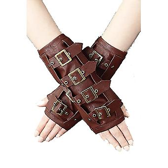 Restyle-Steampunk maro-armwarmers
