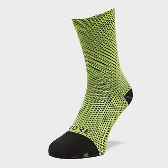 New Gore Men's C3 Dot Mid Training Socks Green
