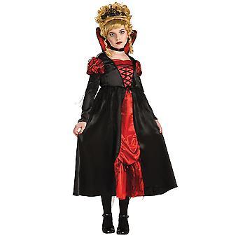 Transylvanian Vampiress Deluxe keskiaikainen Gothic Vampire Halloween tyttöjen puku
