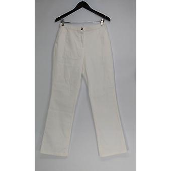Linea by Louis Dell'Olio Jeans Stretch Denim Boot Cut Leg White A304733