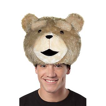 Adults Ted Teddy Bear Hat Fancy Dress Costume