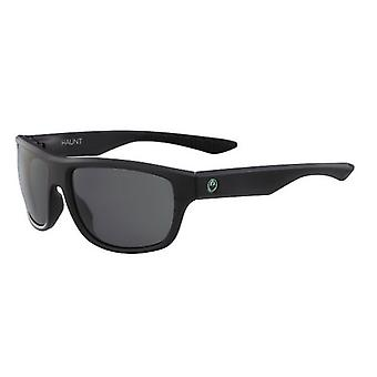 Dragon Haunt 32742-002 Men's Sunglasses Matte Black Frame and Lens