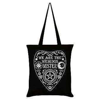 Grindstore We Are The Weirdos Mister Ouija Tote Bag