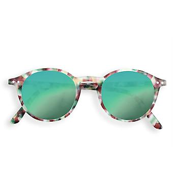 IZIPIZI Sun Junior D Green Tortoise With Green Lenses Sunglasses