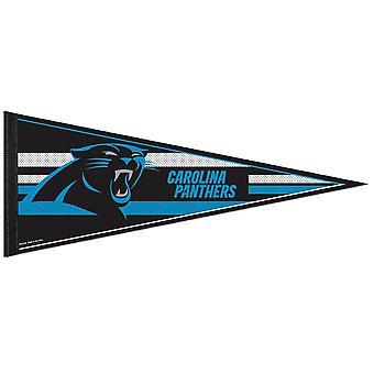 Wincraft NFL Filz Wimpel 75x30cm - Carolina Panthers