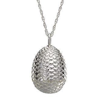 Game Of Thrones - Ciondol Dragon Egg - Silver - NOBGOTN0038