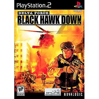 Delta Force-Black Hawk Down (PS2)-fabriken förseglad