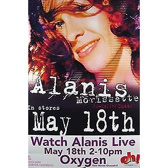 Alanis Morissette (album release) originele muziek poster