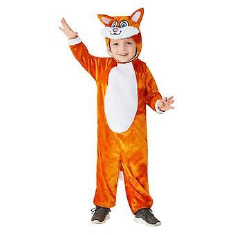 Kleinkinder, die niedlichen Katze Kostüm