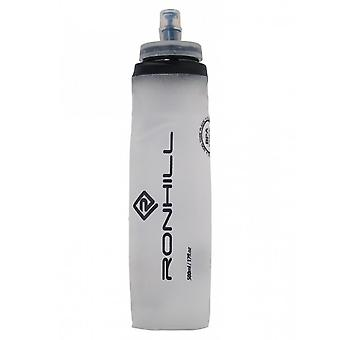 Ronhill Fuel Flask Lightweight Roll Up Bite Valve Silicone Run Bottle - 500ml