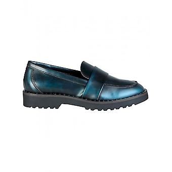 Ana Lublin - Shoes - Moccasins - HELGA_BLU - Women - midnightblue,dimgray - 41