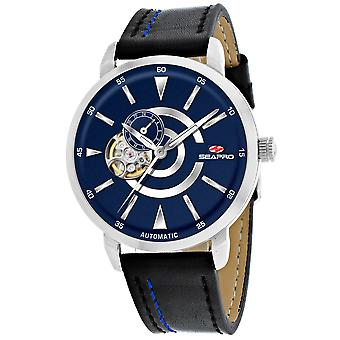 Seapro Men-apos;s Elliptic Blue Dial Watch - SP0143