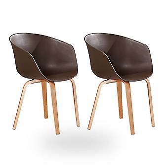 Marcelo Dining Chair Chocolate - Sale