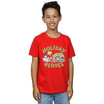 DC Comics jongens Justice League kerst levering T-shirt