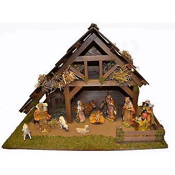 Pinna sänky ELIAS puinen Pinna sänky joulu sänky joulu syntymä kohtaus suuri