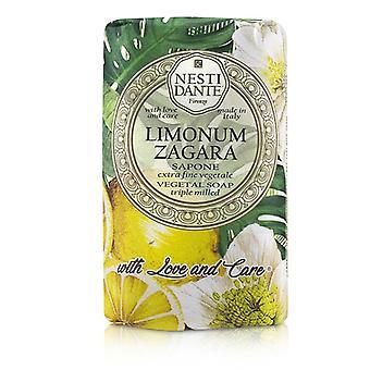 Nesti Dante trippel valset vegetal såpe med kjærlighet & amp; Omsorg-Limonum Zagara-250g/8.8 oz