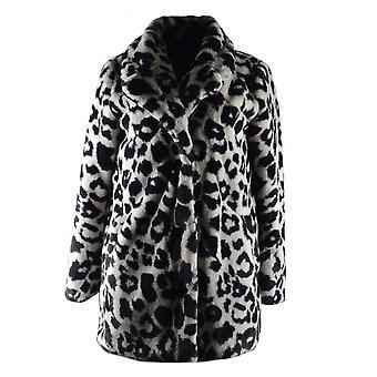 Oakwood Women's User Wolf Faux Fur Coat