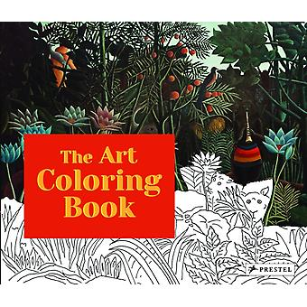 Art Colouring Book by Annette Roeder