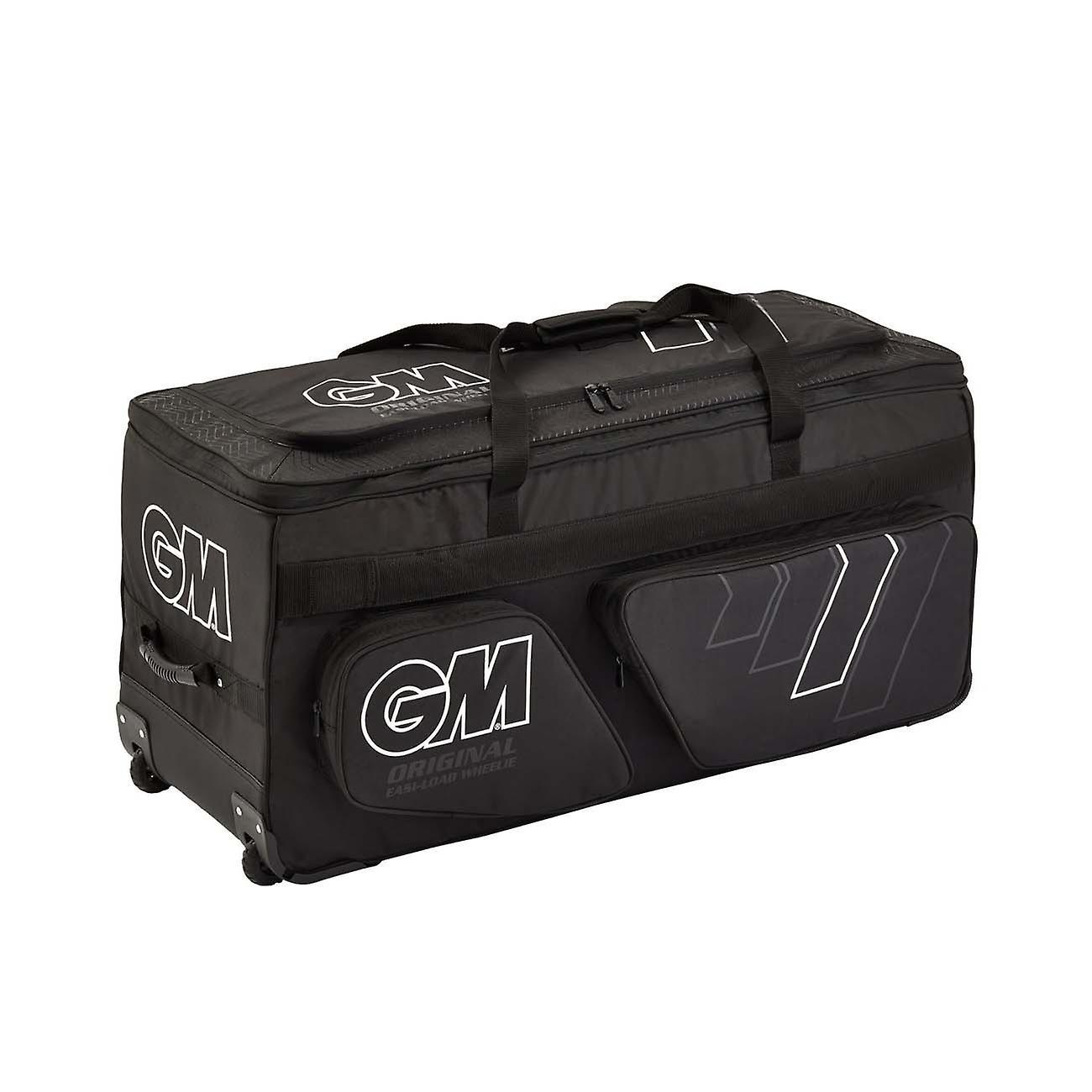 Gunn & Moore 2020 Original Easi-Load Wheelie Cricket Duffle Holdall Bag Black