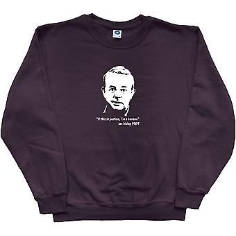 Ian Hislop Black Sweatshirt