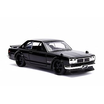 Nissan Skyline 2000 GT-R Brian's Car Diecast Model Car from Fast And Furious Fast Five