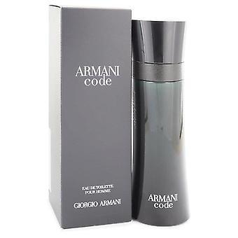 Armani code eau de toilette spray by giorgio armani 435745 125 ml