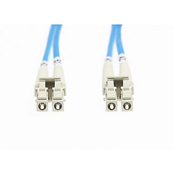 Blue Lc-Lc Om1 Multimode Fibre Optic Cable