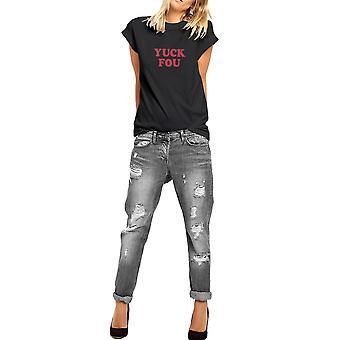 Fashionkilla Womens/Ladies Oversized Yuck Love Valentines T-shirt