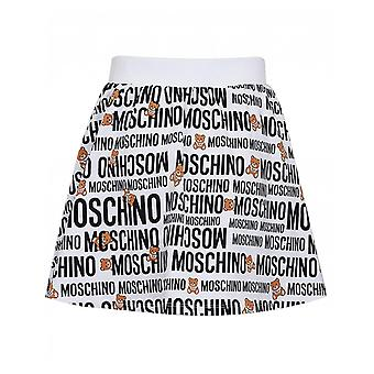Moschino All Over Logo Skirt