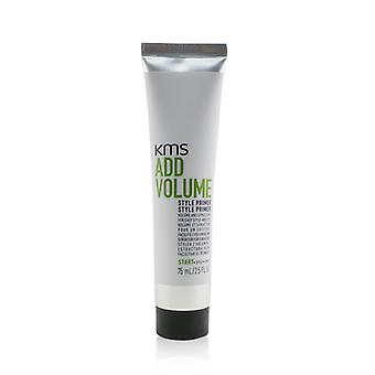 Kms California Add Volume Style Primer (volume And Structure For Easy Style-ability) - 75ml/2.5oz