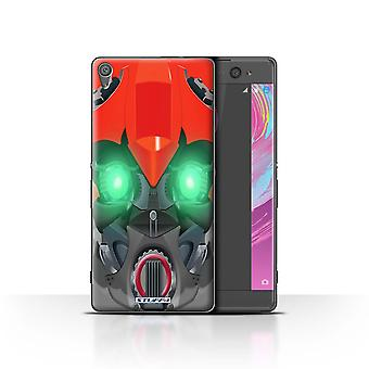 STUFF4 Case/Cover for Sony Xperia XA/Bumble-Bot Red/Robots