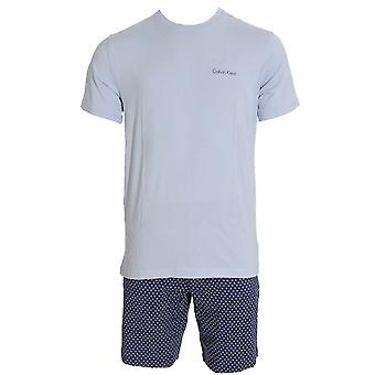 Calvin Klein Pyjama Set, Ice Pulp Top / Mod Dot Short, Small
