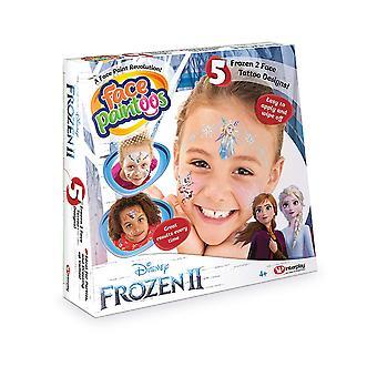 Face Paintoos FP201 Disney Frozen II Temporary Face Paint Tattoos