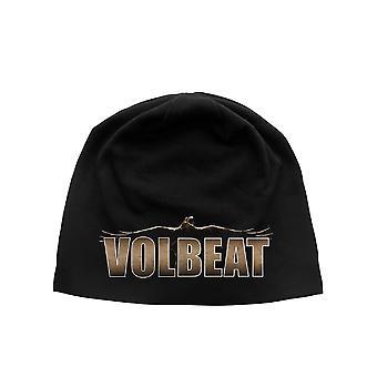 Volbeat Beanie Hat Cap Raven Logo Official New jersey