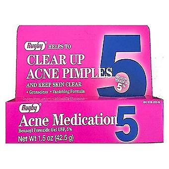 Rugby acne medication gel, 5%, 1.5 oz