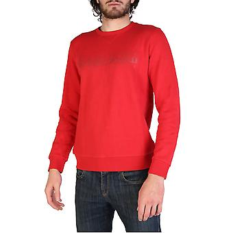 Napapijri Original Men All Year Sweatshirt - Red Color 34236