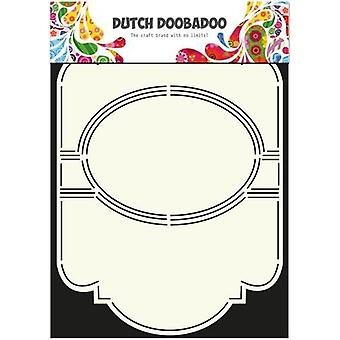 Dutch Doobadoo Dutch Card Art Stencil Swing card 5 oval A4 470.713.309