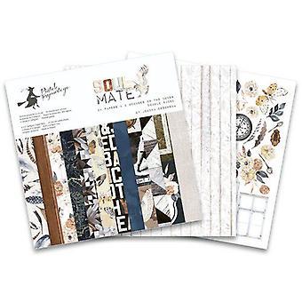 """Piatek13 6""""x6"""" Paper Pad – Soulmate, 24 Sheets"""
