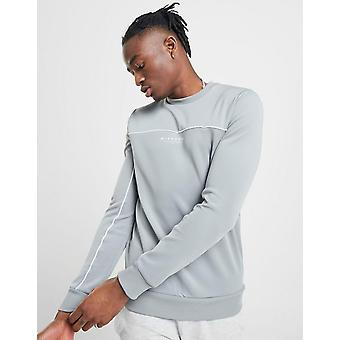 New Mckenzie Essential Men's Poly Crew Sweatshirt Grey