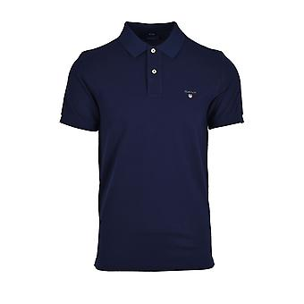 Gant Original Pique Polo Shirt Abend blau
