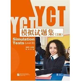 YCT Simulation Tests Level 3 by Jiang Liping - 9787561948903 Book