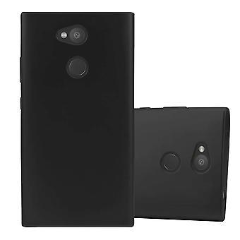 Cadorabo tapauksessa Sony Xperia L2 tapauksessa tapauksessa kansi - joustava TPU silikoni puhelinkotelo - silikoni kotelo suojakotelo ultra ohut pehmeä takakannen tapauksessa puskuri