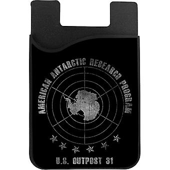 The Thing American Antarctic Research Program Phone Card Holder