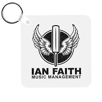 Spinal Tap Ian Faith Music Management Keyring