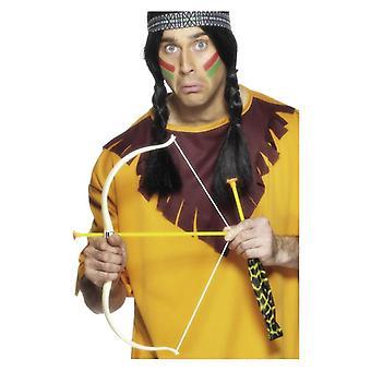 Nativo americano inspirado arco y flecha juego disfraces accesorio