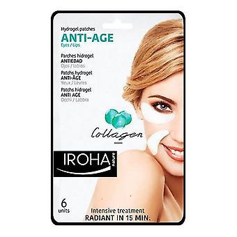 Patch för ögonområdet ögon & Lip antiage Iroha (6 st)