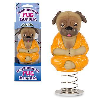 Archie mcphee -  dashboard pug buddha